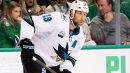 Sharks' Joe Thornton disappointed at not being traded at deadline