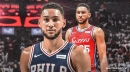 Report: Ben Simmons to be re-evaluated in 2 weeks for back injury