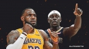 VIDEO: Lakers' LeBron James overpowers Jrue Holiday at the post and posterizes him