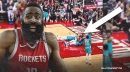 Grizzlies' Gorgui Dieng, Dillon Brooks have hilarious simultaneous reaction to James Harden foul call
