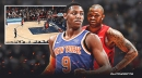 Video: Knicks' RJ Barrett bullies P.J. Tucker for game-sealing basket