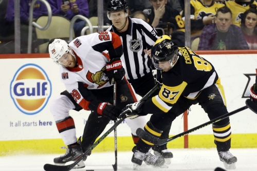 Penguins/Senators Recap: Dumoulin and Marino are back and the losing streak is gone. Pens win 7-3