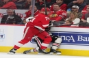 Detroit Red Wings snap six-game losing streak with 2-1 win over Blackhawks