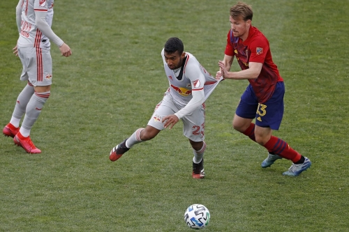 Late equalizer gives Red Bulls a Draw