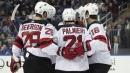 Zajac, Palmieri lead Devils to win over rival Rangers