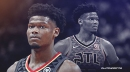 Hawks rookie Cam Reddish exits game vs. Grizzlies with cramps