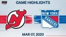 Palmieri scores pair of goals as Devils top Rangers
