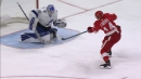 Robby Fabbri hops onto the ice and scores breakaway goal