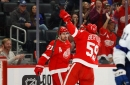 Detroit Red Wings top line shows its promise, besting powerful Lightning, 5-4 (SO)