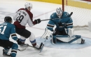 Sharks' homestand ends with loss, and another injury