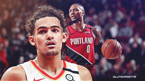 Trae Young passes Damian Lillard for quickest player to hit 350 career 3s
