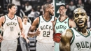 Bucks' Khris Middleton, Brook Lopez react to not playing vs. Nuggets despite being healthy