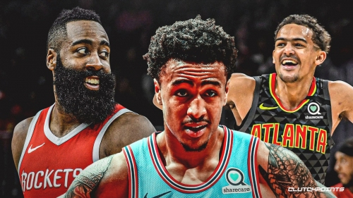 John Collins brings up Trae Young, James Harden to complain about officiating