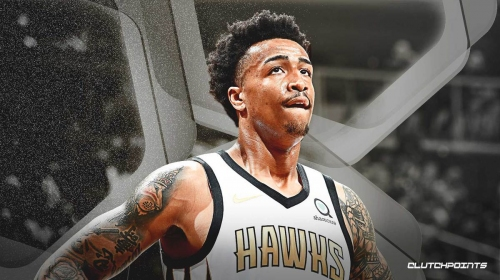 John Collins thinks he's worthy of a max contract, but Atlanta isn't so sure