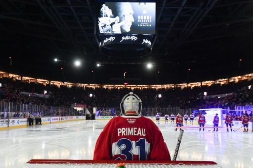 Cayden Primeau shuts out the Senators in a crucial game
