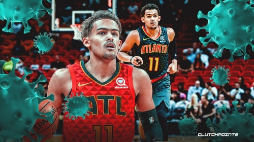 Hawks' Trae Young reveals what he's doing during coronavirus suspension