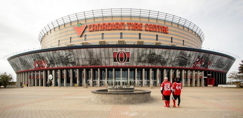 Senators remain silent on subject of paying arena staff following COVID-19 suspension