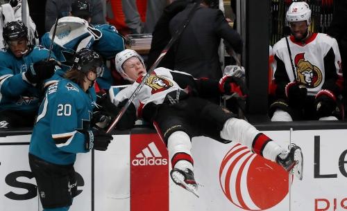 Ottawa Senators player tests positive for Coronavirus, days after a game in San Jose