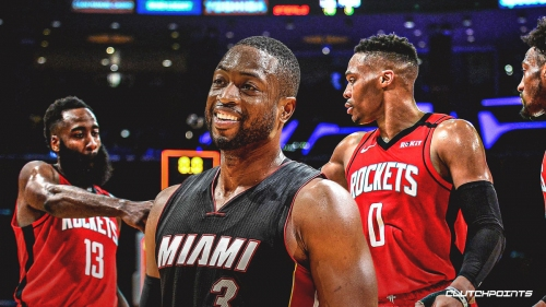 Dwyane Wade calls small-ball Rockets 'exciting as s**t' to watch