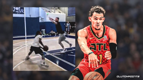 Hawks' Trae Young critiques questionable dribble move by NBA skills trainer