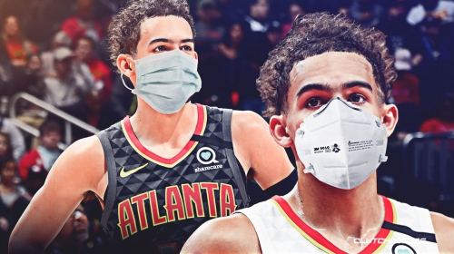 Hawks' Trae Young shows off 'Masked Trae' in quarantine