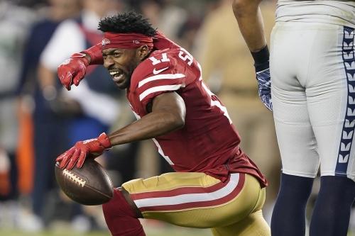 Report: Emmanuel Sanders bolts 49ers for Saints in free agency