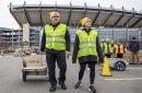 'Unique' drive-thru delivers food, smiles amid COVID-19 outbreak