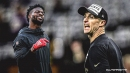 Saints' Emmanuel Sanders speaks out on playing with Drew Brees