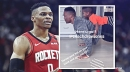 [VIDEO] Rockets star Russell Westbrook submits entry for Push-Up Challenge with son Noah on his back