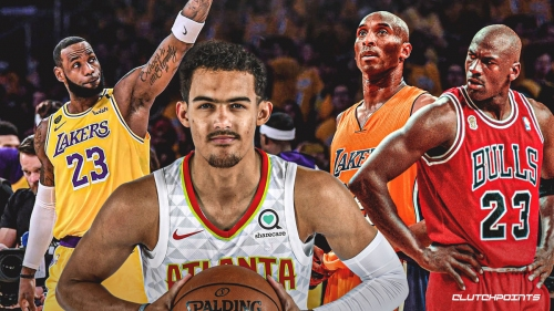 Trae Young picks LeBron James over Michael Jordan, Kobe Bryant on his top-5 list