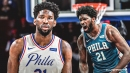 Joel Embiid reacts to Sixers ownership 'doing a 180' on staff pay cuts