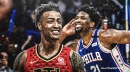 Joel Embiid savagely responds to John Collins wanting to dunk on him