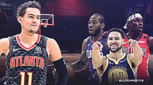 Hawks' Trae Young names Jrue Holiday, Kawhi Leonard, Klay Thompson as NBA's top 3 defenders