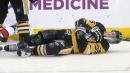 Injured Penguins forward Guentzel on schedule for possible return