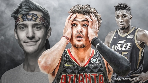Hawks' Trae Young clowns Donovan Mitchell for trying to play Fortnite with Ninja