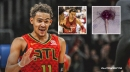 Hawks' Trae Young clowns himself with viral lollipop meme