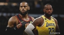 Lakers' LeBron James 'bummed out' about missing chance to return to Cleveland
