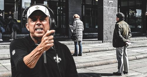 Saints coach Sean Payton shares no-nonsense strategy for social distancing