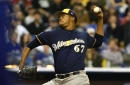 Milwaukee Brewers option five to the minor leagues