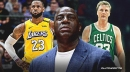 Magic Johnson sees himself, Larry Bird in LeBron James