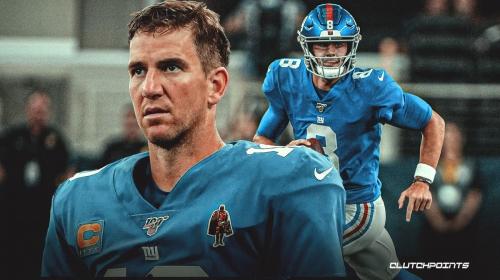 Eli Manning makes revealing statement on what may hurt Giants' Daniel Jones' progress