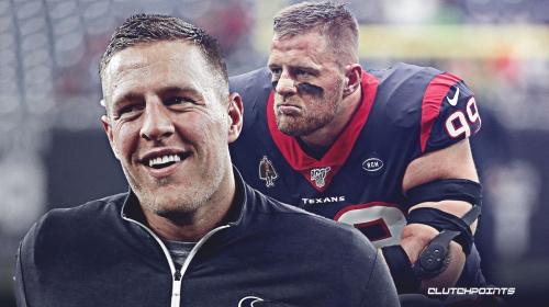 Texans' JJ Watt has funny response to siblings' reunion in Pittsburgh