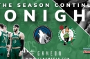 Boston Celtics Simulation vs Timberwolves with Grande & Max (9 p.m.)
