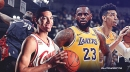 The difference between 2009 LeBron James vs. Lakers version, per Danny Green