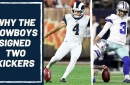 It's very interesting that the Dallas Cowboys have signed two kickers in free agency