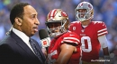 49ers' George Kittle defends Jimmy Garoppolo after Stephen A. Smith rips him