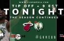 Boston Celtics Simulation vs. Heat with Sean Grande & Max (9 p.m.)