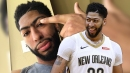 Anthony Davis pranks NBA fans on April Fool's Day with unibrow