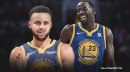 Stephen Curry is no match for a maniacal Draymond Green in 'Tour de Warriors'