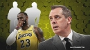 Lakers coach Frank Vogel admits he doesn't know which of his players contracted coronavirus